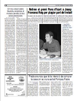 [http://nova.deulofeu.org/wp-content/uploads/Alexandre_Deulofeu_-_El_Punt_2005-08-19_catala.jpg]